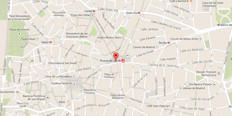 Geolocalización en Google Maps