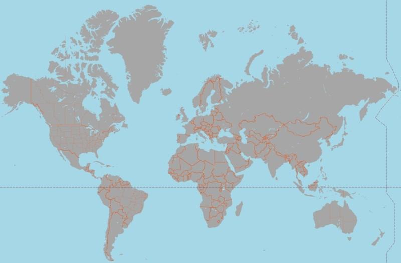 Mapa de Google con colores personalizados